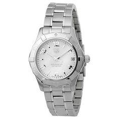 Tag Heuer Aquaracer Ladies Watch WAF1311.BA0817. Deal Price: $1295.00. List Price: $1900.00. Visit http://dealtodeals.com/featured-deals/tag-heuer-aquaracer-ladies-watch-waf1311-ba0817/d20464/watches/c135/