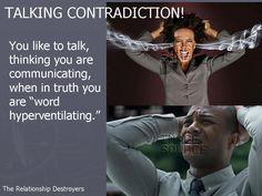Talking Contradiction