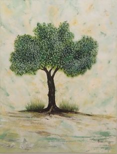 Olive Tree, Oil On Canvas, Euro, Herbs, Free Shipping, Facebook, Artist, Painting, Painted Canvas