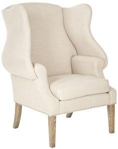 Safavieh Kameron Wingback Chair & Reviews | Wayfair