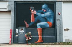 WALL/THERAPY 2015 Invites 14 Artists to Explore the Surreal in Rochester, NY  http://www.thisiscolossal.com/2015/08/walltherapy-2015/