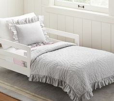 Ruffle Collection Toddler Bedding | Pottery Barn Kids