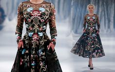 PSAW1609, oh my god I love the sleeves & embroidery on this dress!