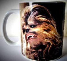 STAR WARS Coffee Cup Mug CHEWBACCA Wookie Cabin Hunting Camping RV #StarWars