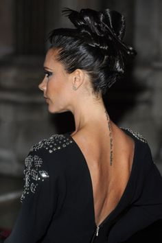 Celebrity Tattoos - Victoria Beckham