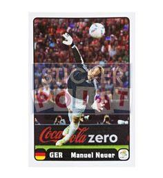 Panini Em Euro 2012 Manuel Neuer Sticker 2 von 6 vorne