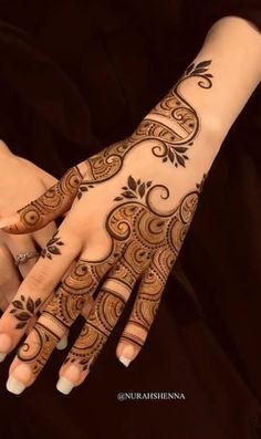 Modern Henna Designs, Simple Arabic Mehndi Designs, Indian Mehndi Designs, Mehndi Designs For Girls, Mehndi Designs 2018, Stylish Mehndi Designs, Wedding Mehndi Designs, Henna Designs Easy, Henna Tattoo Designs
