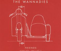 """For Sale - The Wannadies Friends UK Promo  CD single (CD5 / 5"""") - See this and 250,000 other rare & vintage vinyl records, singles, LPs & CDs at http://eil.com"""
