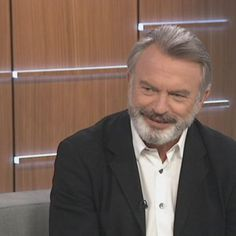 sam neill news   Actor Sam Neill returns home for his latest film - ABC News ... Hunt For The Wilderpeople, Sam Neill, New Actors, Famous Men, Abc News, Beautiful Men, Crushes, It Cast, Eyes