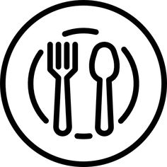 vector icons dish icon food cooking instagram svg designed doodle alimento font