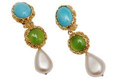 Chanel Drop    Earrings on OneKingsLane.com