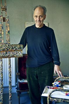 Portraits: Frank Auerbach for The Times of London [img src: Erik Madigan Heck - maisondesprit.com]