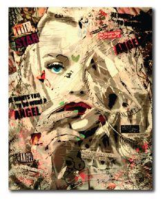 Items similar to Original Modern Pop Art on Etsy Art And Illustration, Illustrations, Graffiti Art, Urbane Kunst, Newspaper Art, Modern Pop Art, Identity Art, Pastel Art, Urban Art