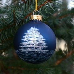 Create a custom painted ornament set, perfect for your own tree, or give as a gift!