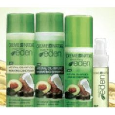 Hurry over and score some FREE Straight From Eden haircare product samples.