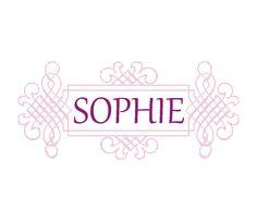 sophie name logo pastel - photo #32