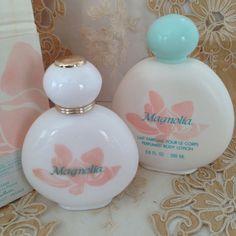 Yves Rocher Vintage Magnolia Eau De Toilette + Perfumed Lotion Gift Bag #YvesRocher