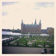 helloapplepat 菲德列古堡 #Frederiksborg #Denmark #Copenhagen