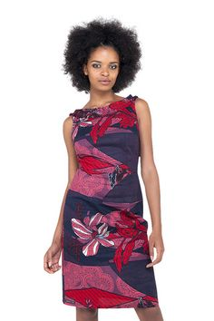 African Print Dress by Kampala Fair - buy it at sapelle.com