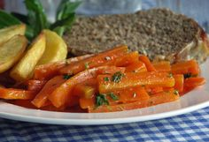 Maple Butter Carrots (Möhren mit Ahornsirup)
