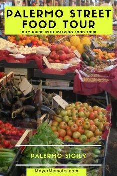 Palermo Tour in Sicily - a walking tour of food and history - Moyer Memoirs Italy Travel Tips, Europe Travel Guide, Sicily Travel, Travel Guides, Italy Destinations, Palermo Sicily, Sicilian Recipes, Best Street Food, Best Places To Eat