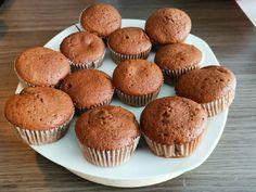 Nutellás muffin | Bianca receptje - Cookpad receptek Smoothie Fruit, Winter Food, Fudge, Nutella, Muffins, Cupcakes, Breakfast, Fruits And Veggies, Healthy