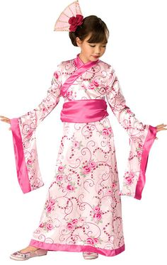 Children's Asian Princess costume for Chinese New Year £16.99