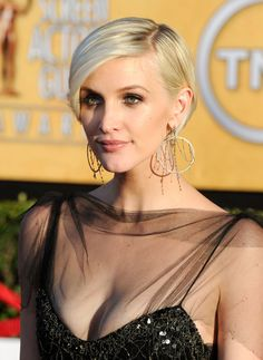 Ashlee Simpson Wentz Layered Razor Cut - Short Hairstyles Lookbook - StyleBistro