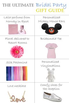 The Bridal Party Gift GuideEver After Blog | Disney Fairy Tale Weddings and Honeymoon