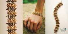 Toblerone Bracelet Tutorial - Modified Cubic Right Angle Weave Pattern - Digital…