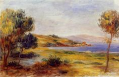 The Bay - Pierre-Auguste Renoir