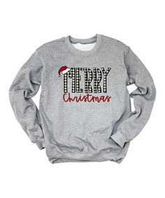 The days may be long and dark, but there's no better way to brighten the winter blues than a roaring bonfire and bundling up in these trend-inspired picks. Crew Neck Sweatshirt, Graphic Sweatshirt, New Today, Ladies Party, Merry Christmas, Heather Grey, My Style, Sweatshirts, Christmas Clothing