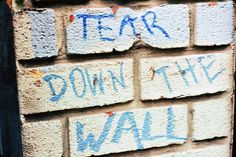 There is a massive wall between us Christians and gay people, a wallhard to penetrate, hard to see past, it isa wall that seems to be a mile high and a mile wide. AsI thinkabout this wal…