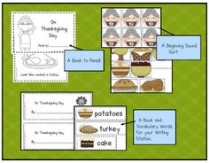 Can Do Kinders: Thanksgiving~ There Was an Old Lady Who Swallowed a Pie