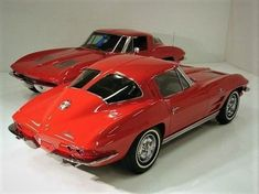 1963 Corvettes #chevroletcorvette1963