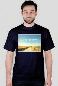 Camino de Santiago - The Way of Life - koszulka męska