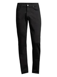 J BRAND Kane Eco Jeans. #jbrand #cloth J Brand, Fashion Men, Minimalist Fashion, Black Cotton, Black Jeans, Sweatpants, Skinny Jeans, Slim, Fitness