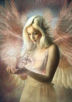 """Ángel Jehoel Considerado como un mediador es """"el ángel que sostiene el Leviatán bajo control."""" , jefe de la orden de los serafines Tengo la presencia de ánimo para elevarse a grandes alturas. Dios me dio el amor, el poder para pisar a los escorpiones y serpientes, y una mente sana. Dios guiame Ángel de la Presencia pido que me envíe una Legión de sus ángeles para que me ayude levantarme las mayores alturas A través de Precious el nombre de Jesucristo, Puro y Santo ruego. - Amén"""