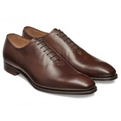 e89659798909 Berkeley Whole Cut Oxford in Burnished Mocha Calf Leather Chaussures Homme
