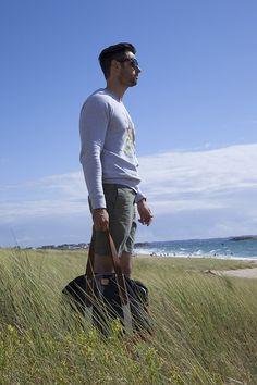 "Look ""Coeur de requin"" #look #mode #style #casual #plage #weekend #fashion #mensfashion #menswear #beach"