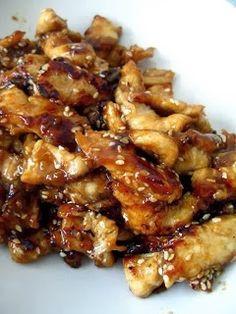 Crock pot teriyaki chicken -  chicken breast tenderloins. 1 cup pineapple juice  1/2 cup packed brown sugar  1/3 cup light soy sauce