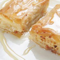 Recipe for Galaktoboureko (Sweet milk pie)
