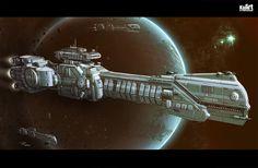 Battleship Muren by KaranaK.deviantart.com on @deviantART