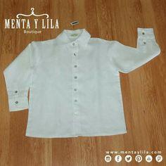Para los hombrecitos de la casa tenemos camisas de lino 100% orgánico hipoalérgenico, para que estén todo el tiempo guapos y cómodos. http://www.mentaylila.com/blog/11-ninas/327-descuento-en-colecciones-para-ninas-y-ninos