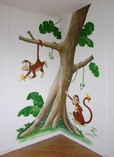 jungle jongenskamer