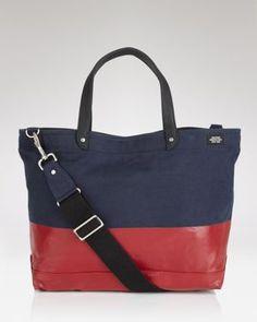 Dipped tote bag