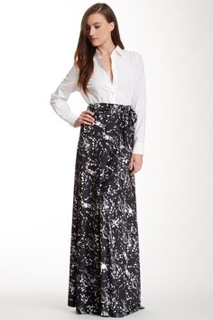 Von Ronen Zenya Convertible Maxi Skirt
