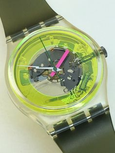 Rare Vintage Swatch Watch Techno Sphere GK101 by ThatIsSoFunny
