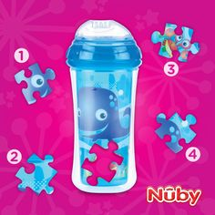 LIKE & REPIN to ‎WIN‬ a ‪#NubyClikit‬ cup before they hit at @Target stores this Monday 7/29! Tell us which piece of the puzzle is missing and click here, https://www.facebook.com/nubyusa?sk=app_228910107186452 to enter for a chance to WIN! Contest ends tonight 7/26 at 11:59pm CT.