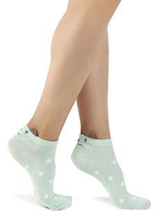 Damas//Niñas Beige Navidad Osos Polares Con Bufandas En Algodón Calcetines de tobillo
